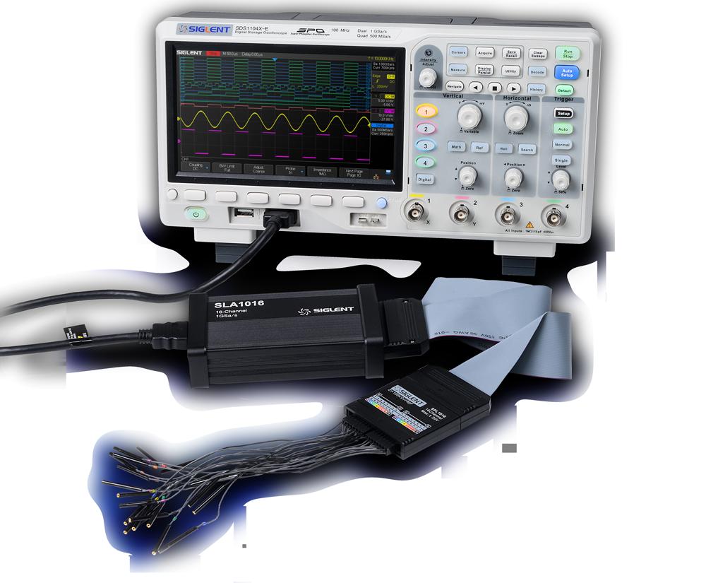 SDS1000X-E Series Super Phosphor Oscilloscopes