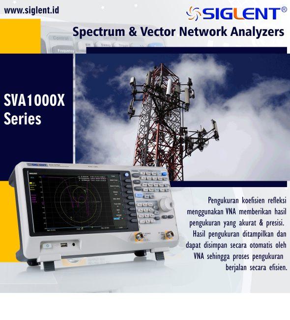 Spectrum & Vector Network Analyzer SVA1000X