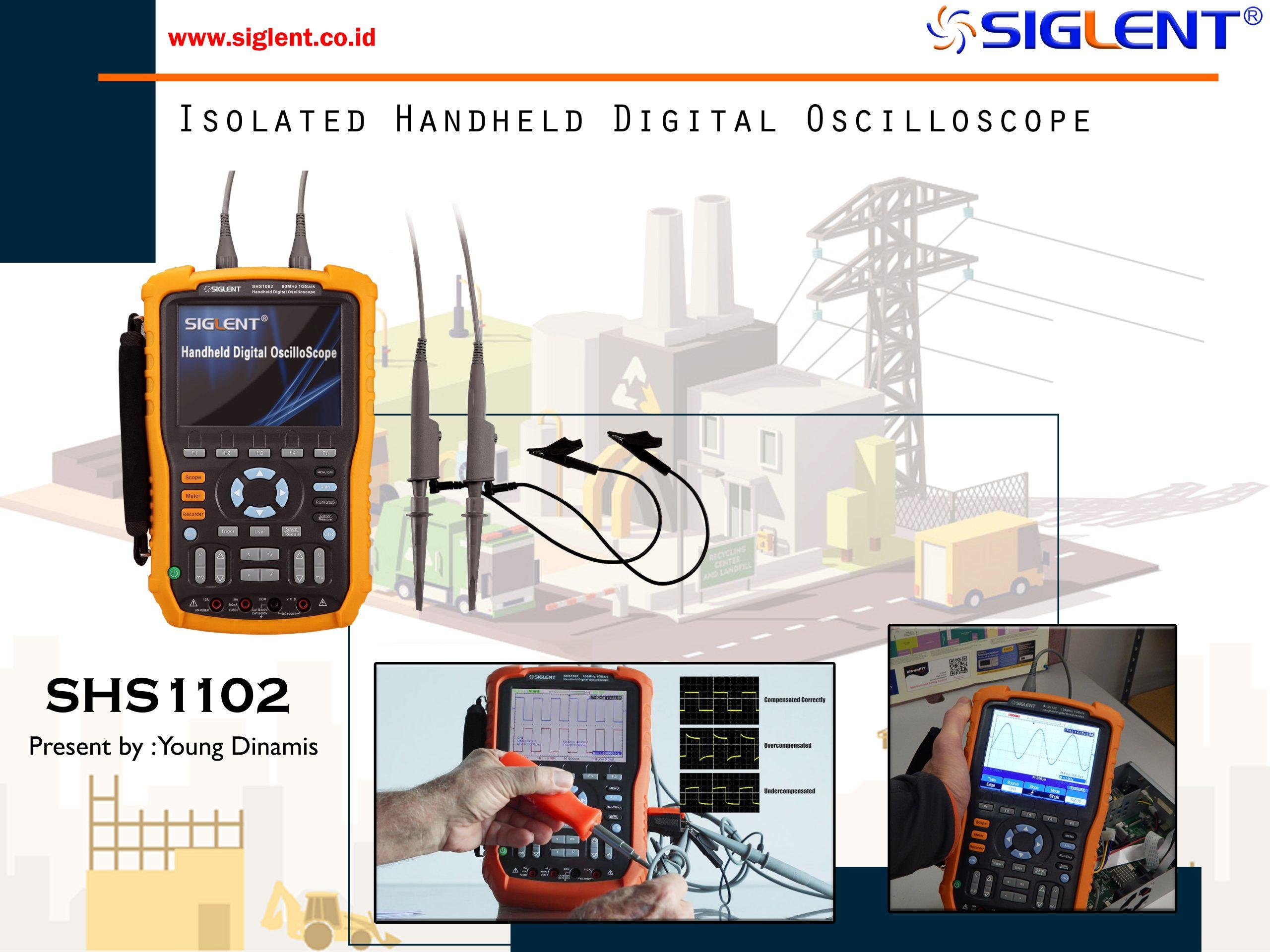 SHS1000 Isolated Handheld Digital Oscilloscope