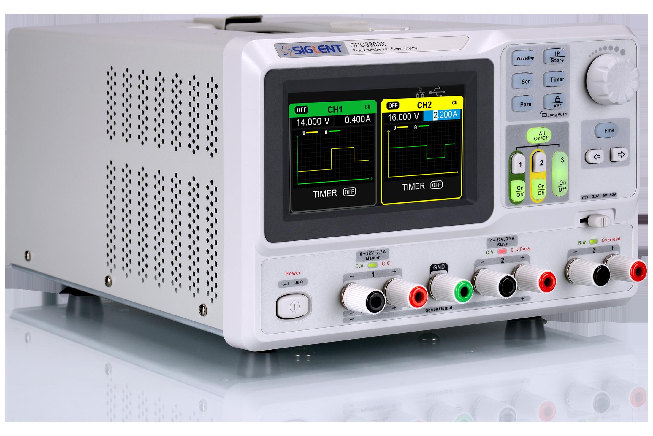 Programmable DC Power Supplies SPD3303X / SPD3303X-E Series