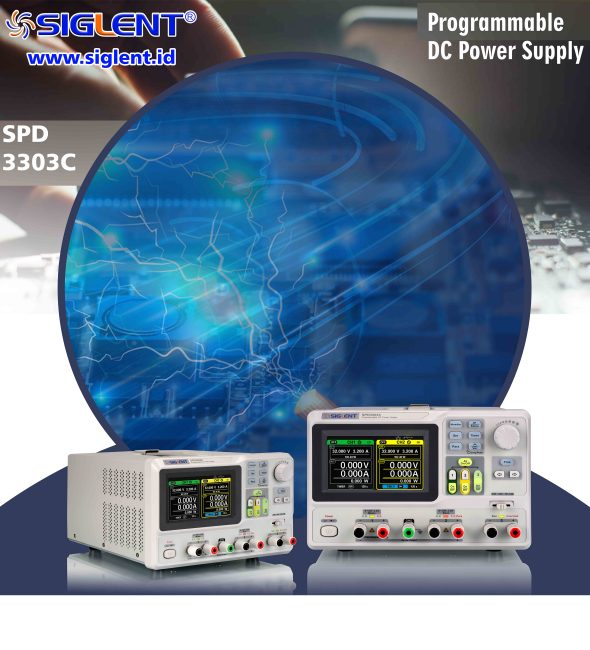 SPD3303C Series Programmable DC Power Supplies
