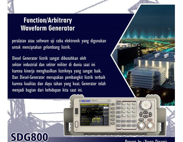 Function/Arbitrary Waveform Generators SDG800 Series
