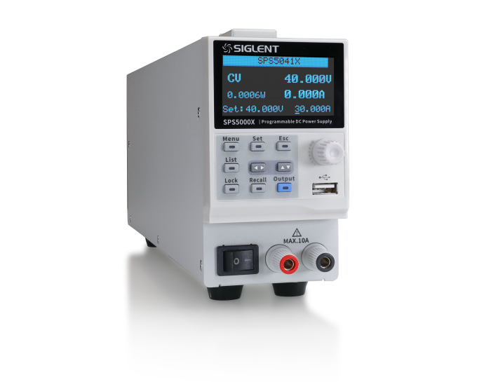 SPS5000X Series wide range programmable Switching DC Power Supply